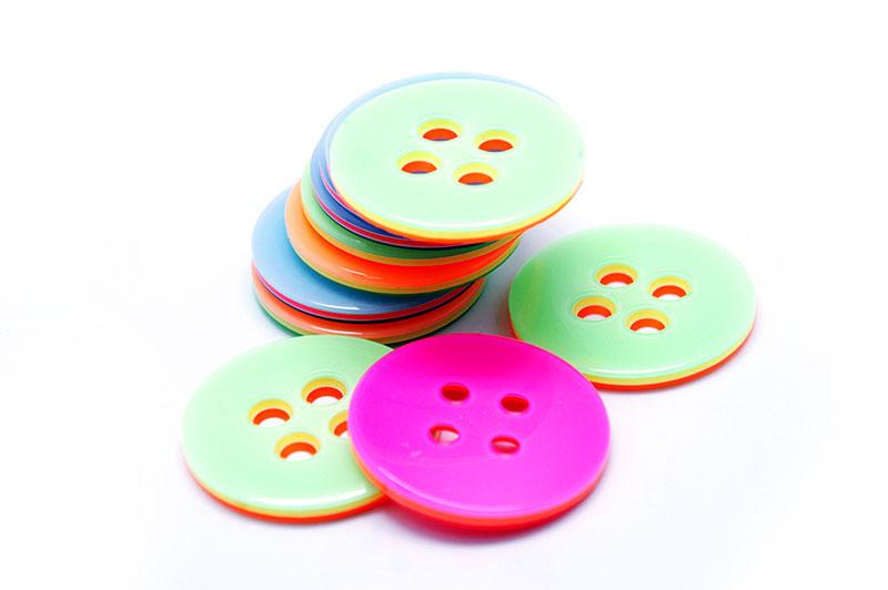 botão polyester 008